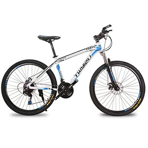 Mountainbike Komplettrad MTB 27 Gang 26 Zoll Rad Hardtail Fahrrad,Blue2
