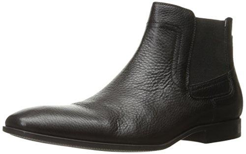 Calvin Klein Men's Clarke Tumbled Boot, Dark Brown, 13 M US
