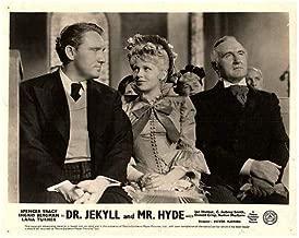 Dr Jekyll and Mr Hyde 1941 Original Lobby Card Lana Turner Spencer Tracy