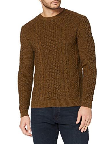 ESPRIT Herren 100EE2I318 Pullover, 259/BARK 5, L