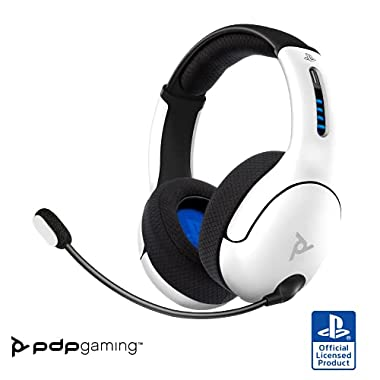 PDP Gaming LVL50 Wireless Stereo Gaming Headset: White – PlayStation 5, PlayStation 4, 051-049-Na-Wh – PlayStation 5