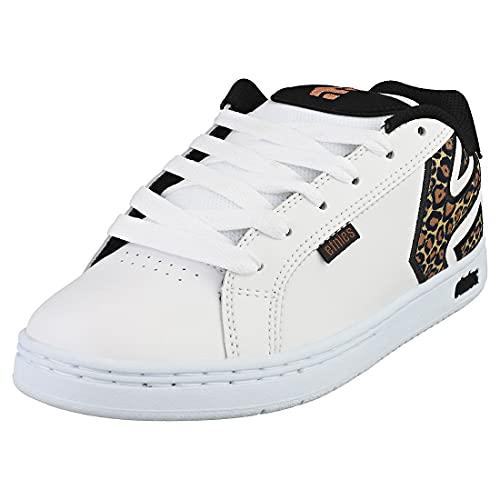 Etnies Fader W'S, Zapatos de Skate Mujer, Impresión en Blanco y Negro, 38.5 EU