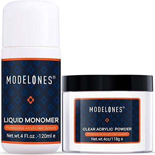 Modelones Acrylic Powder Clear Acrylic...