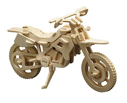 Holzbausatz 3D Puzzle Cross-Motorrad