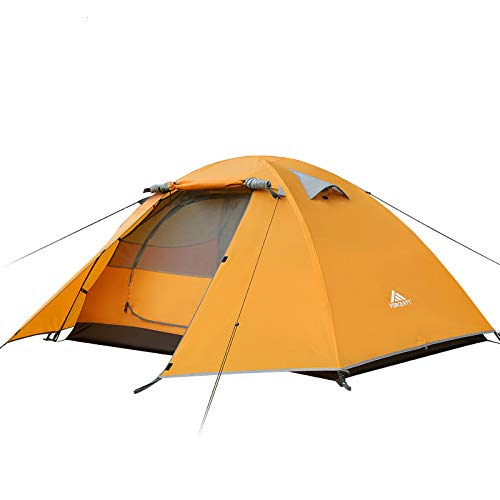 Forceatt 2 Person Camping Tent, Professional Waterproof & Windproof & Pest Proof. Lightweight...