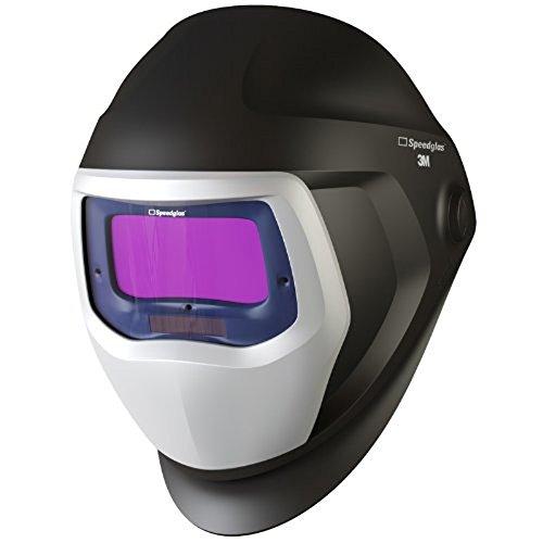 3m Speedglas 9100X Noir Masque de soudeur avec grande taille Assombrissement automatique filtre 9100X-Shades 5, 8–13, modèle, 06–0100–20