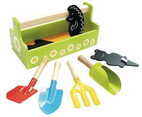 House of Toys - 771118 - Jeu de Plein Air - Boite à Outils de Jardin
