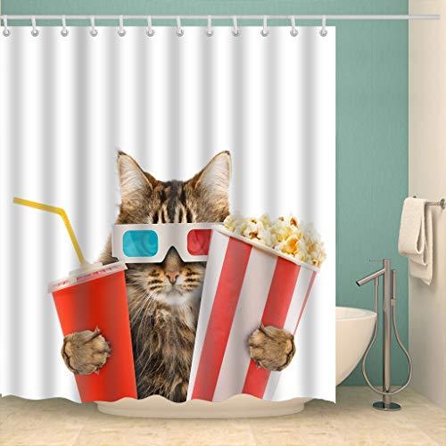 cortinas de baño elefante