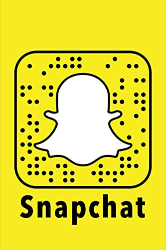 Snapchat: NoteBook 120 Empty Pages with Lines