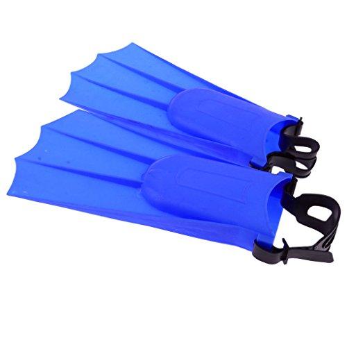 Gazechimp Erwachsene Taucherflossen Schwimmflossen Schnorchelflossen - Blau, 36-40