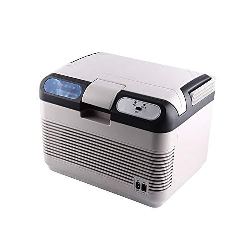 Lyy - 8866 Nevera Neveras Congelador Refrigerador Refrigerador portátil para camión de 12 litros. Refrigerador Especial. Pequeño refrigerador portátil. Refrigerador de Doble Uso. (Color : White)