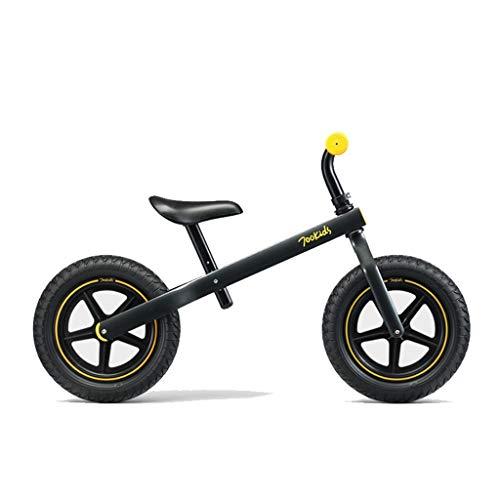 Delawen fietsslee voor kinderen met 2 tot 6 jaar zonder slee met pedaalslee voor fiets en Bimbo Push Bike Eva dempend