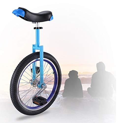 GAOYUY Monociclo Freestyle, Estructura Estable Monociclo De Rueda De 16/18/20 Pulgadas Neumático De Montaña Antideslizante para Adultos Niños Hombres Adolescentes Boy Rider, Mountain Outdoor