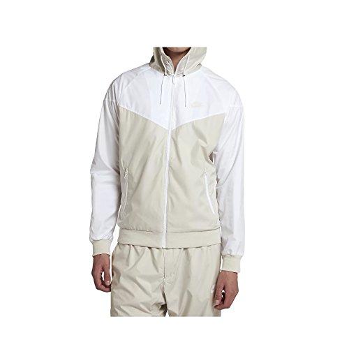 Nike 727324 - Giacca da uomo, Uomo, Gilet, 727324, Beige Clair/Blanc, X-Large
