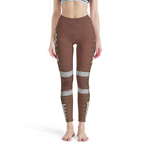 Dofeely dames Fooball Textuur patroon Yoga broek Quick-Dry-functie Tights Leggings Comfort Sport Joggingbroek Muay Thai