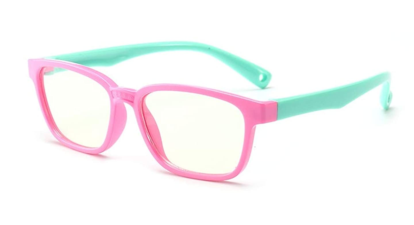 Kids Computer Glasses for Anti UV Eye Fatigue Computer Eyewear Clear Lens-Blue Light Blocking Glasses for Kids and Teens - Sleep Better jfxtmxpttcvc