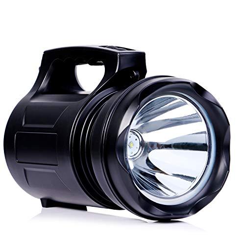 Lampada portatile della torcia elettrica della torcia elettrica del proiettore ricaricabile di eccellente LED della lanterna del riflettore 15000MA Emergenza esterna della tenda esterna della Banca