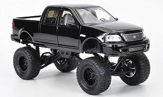 Ford F 150 High Profile, Monstertruck, schwarz, Modellauto, Fertigmodell, Jada 1:24