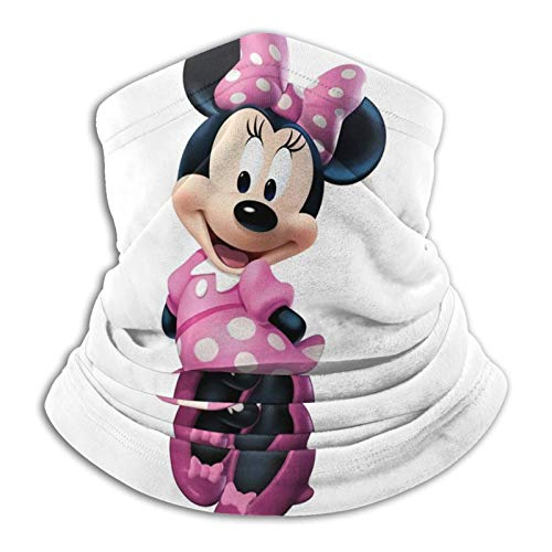 Mi_nnie Mouse - Bandana unisex personalizada para el cuello, polaina para la cabeza, bandana para motocicleta, bandana para mujeres y hombres