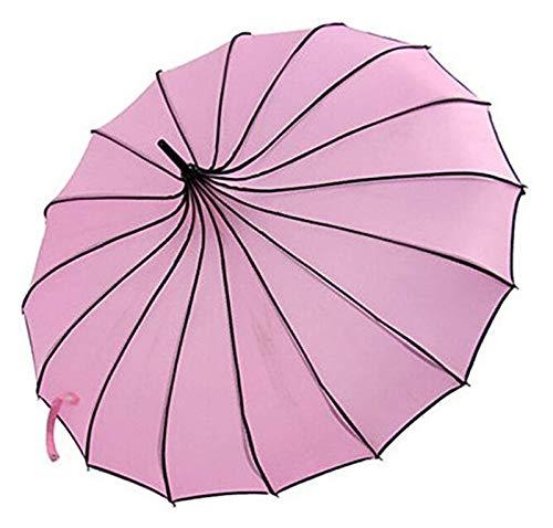 Paraguas de moda para mujer Sombrillas de refugio para mujer Estilo Torre Estilo Sombrillas creativas Anti-Sun UV UV UV Paraguillas China Palacio Estilo Sombrillas Paragramas al aire libre para salida
