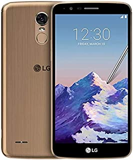 "LG Stylus 3 16GB GSM Unlocked Dual-SIM 4G LTE Smartphone w/ 5.7"" Display, Fingerprint Sensor, 13MP Camera - Gold"