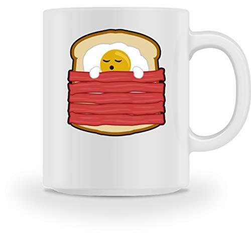 Ei mit Bacon auf Toast - Toast Hawai Fast Food - auch als Geschenk - Tasse