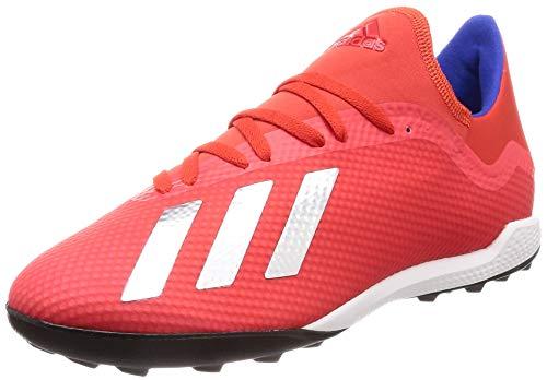 adidas X 18.3 Tf, Scarpe da Calcio Uomo, Multicolore (Rojact/Plamet/Azufue 000), 42 EU