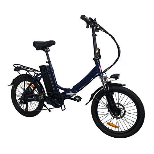DAS.BIKE Alu 20' Klappbar Elektro 2018 Neu Faltbike E-Bike ebike Blau