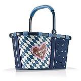 reisenthel carrybag BK4083 Bavaria 6 Special Edition – Einkaufskorb aus hochwertigem, reißfestem Polyestergewebe mit 22l Volumen – Praktisch und handlich – B 48 x H 29 x T 28 cm