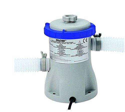 Bestway, Pumpe, 58381, Filterkartusche für Pool, 1250 Liter, Reinigungsgerät mit Schlauch, FER 260411