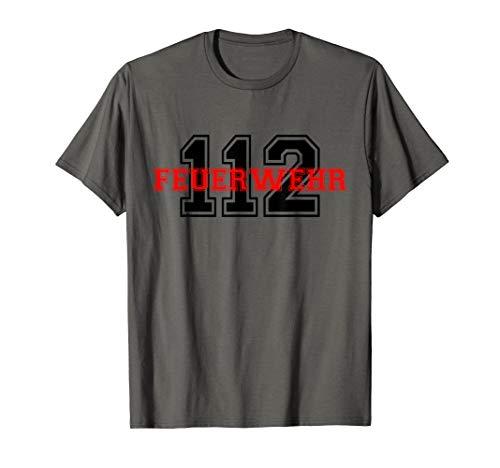 Freiwilliger Feuerwehr Mann Geschenk Arbeitskleidung T-Shirt