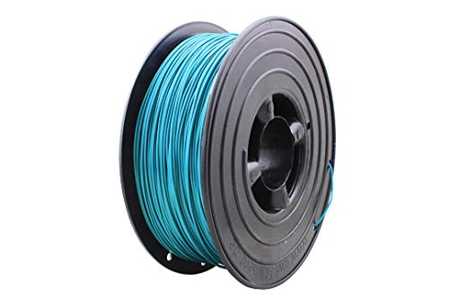 3D Drucker Filament 1kg PLA 1,75mm ⌀ Durchmesser Spule Rolle 1000g Made in DE (Türkis RAL5018)