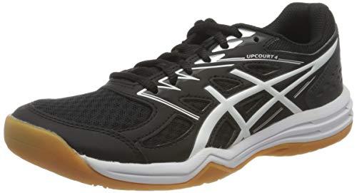 ASICS Damen 1072A055-001_39,5 Volleyball Shoes, Black, 39.5 EU