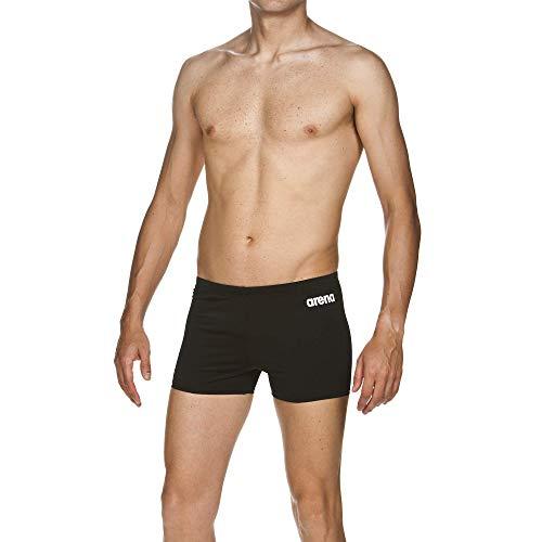 Arena M Solid Short, Bermuda Nuoto Uomo, Nero (Black/White), 48 IT