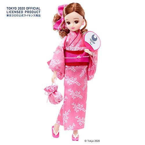 タカラトミー(TAKARA TOMY) リカちゃん 浴衣 東京2020 パラリンピックエンブレム