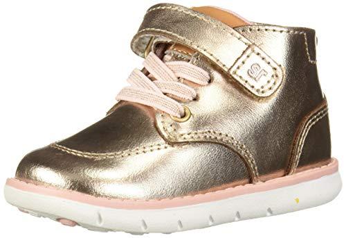 Stride Rite girls Srt Quinn Sneaker, Rose Gold, 5 Toddler US