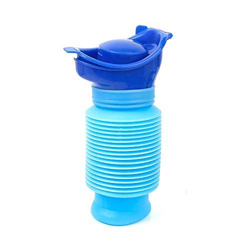 TOMYEER Botella de urinario de emergencia para coche, inodoro al aire libre, camping, viaje, botella compacta para piis (750 ml)