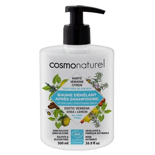 Cosmo Naturel Baume démêlant tous cheveux Karité Verveine Citron 500ml
