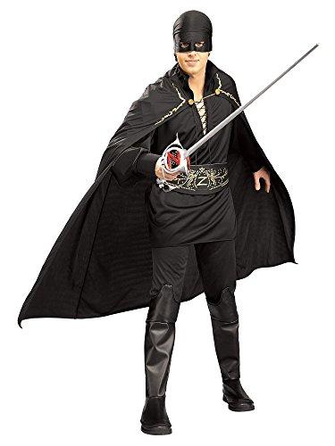 Adult Zorro Fancy Dress XLarge Costume