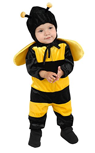 Charades Baby Girl's Little Bee Costume Baby Costume, as Shown, Infant