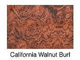 Boat Blank Dash Panel Material - Woodgrain California Walnut Burl 24' x 48' x 3/16'