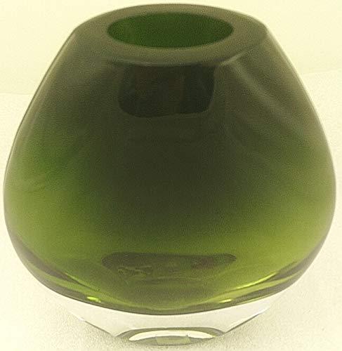 1a PartyLite - Raumduftölvase REGENWALD - P90047 - H: 15cm - Glas - grün
