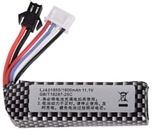 Batería de Respaldo de Alto Rendimiento 3S 11.1V 1800mAh 25C 401855 Batería...