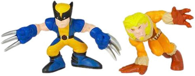 Marvel Super Hero Squad  Wolverine & SaberTooth Tunes