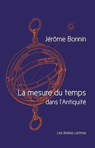 Download La Mesure Du Temps Dans L'Antiquité 