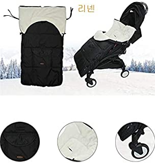 m·kvfa Winter Outdoor Baby Toddler Footmuff Cosy Toes Apron Liner Buggy Pram Stroller Warm Sleeping Bag Fit Most Buggies