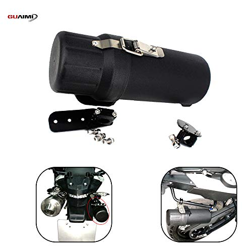 GUAIMI Motorcycle Waterproof Tool Tube Glove Tool Box with Anti-theft Lock Ring For B-M-W F800GS F700GS 2013-2016