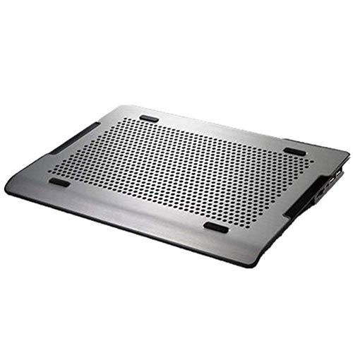 ZOUQILAI Notebook Cooling Pad Tragbarer Computer-Kühlkörper Alle Aluminium-Kühlregale Ultradünner Notebook-Kühler