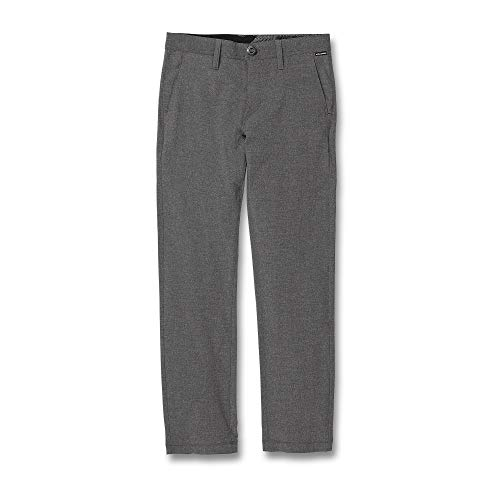 Volcom Big Boy's Frickin SNT Static Chino Pant, Charcoal Heather, 30