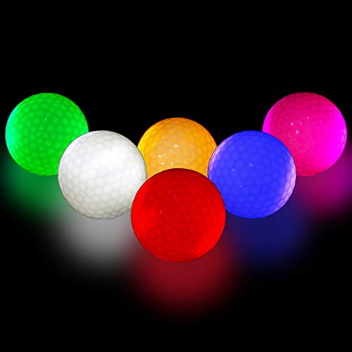 (50% OFF) Glowing Golf Balls Pack of 6 Only $12.48 – Coupon Code